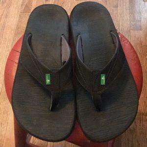 SANUK men's size 12 Flip Flop